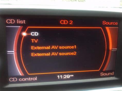 Audi Mmi Code by External Av Source 1 And 2 In Mmi Audiworld Forums