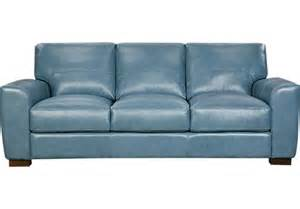 maxwell park blue leather sofa leather sofas blue