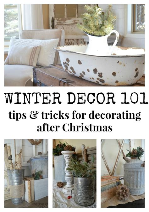 the nest home decor how to decorate for winter after christmas www