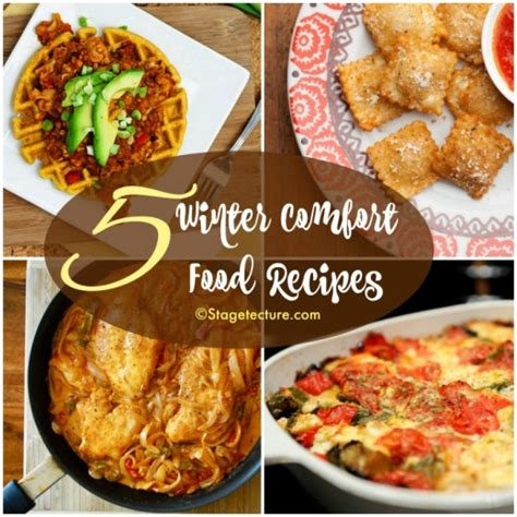 winter comfort food dinner round up 5 winter comfort food recipes