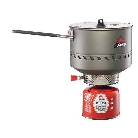 msr reactor windproof kompor 2 5l msr reactor stove system 2 5 litre
