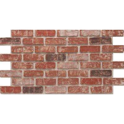 brick faux veneer the home depot