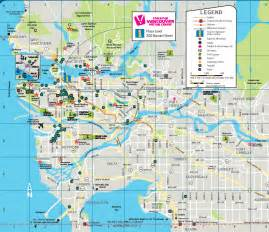 vancouver vacation rental maps alluradirect