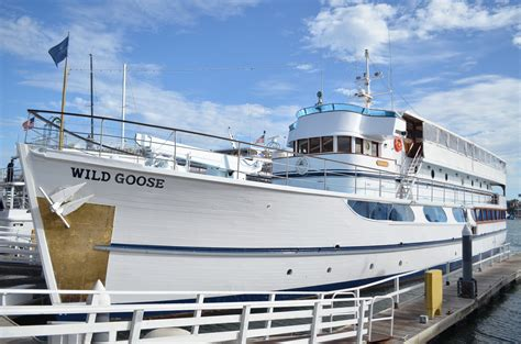 pt boat converted to yacht wild goose motor yacht charter san fran rendezvous charters