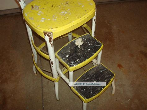 Cosco Bar Stool by Vintage Cosco Step Stool Chair Bar Stools
