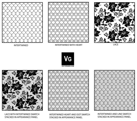 adobe illustrator cs2 pattern swatches lace and mesh pattern swatch by vectorgeek on deviantart