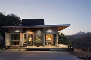 The couple hopes to someday build a larger shipping container home and
