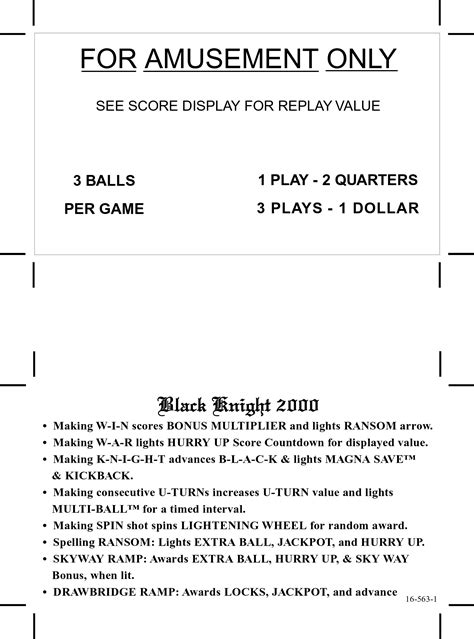 pinball card template pinball pricing cards at www pinballrebel