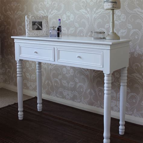 White Dressing Table With Drawers white dressing table belgravia melody maison 174
