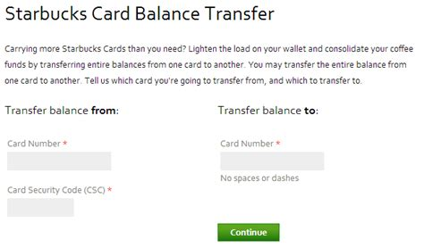 Gift Card Vendors - starbucks card balance check