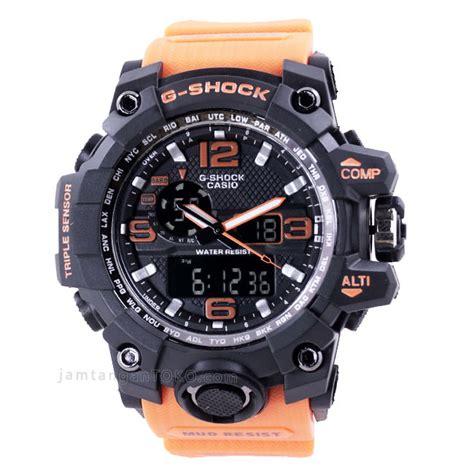 Jam Tangan G Shock Orange Hitam harga sarap jam tangan g shock gwg 1000 orange