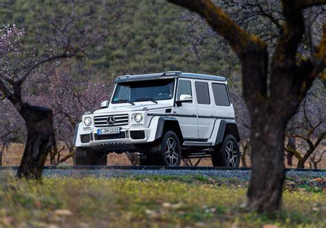 New Mercedes Benz G 500 4x4² (Square)