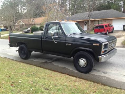 manual cars for sale 1984 ford f250 electronic valve timing 1984 ford f 250 6 9 idi international diesel 2wd pickup truck