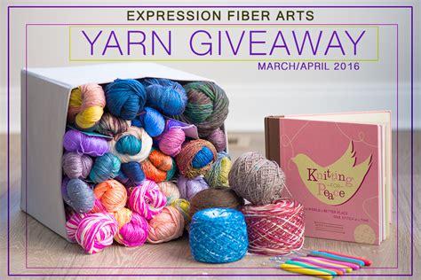 Yarn Giveaway - expression fiber arts a positive twist on yarn yarn giveaways