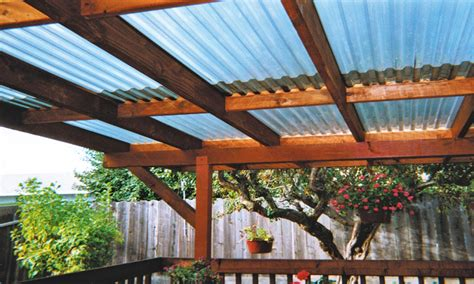Rooftop patio design, corrugated clear patio roof panels corrugated roof over deck. Interior