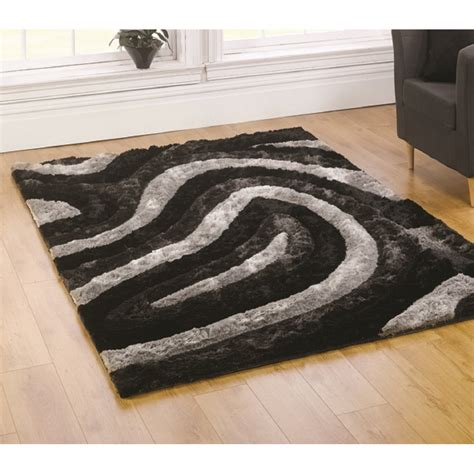 black rugs black silver taj agra titanium rug carpet runners uk