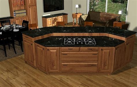 kitchen island plans with cooktop woodworking projects plans