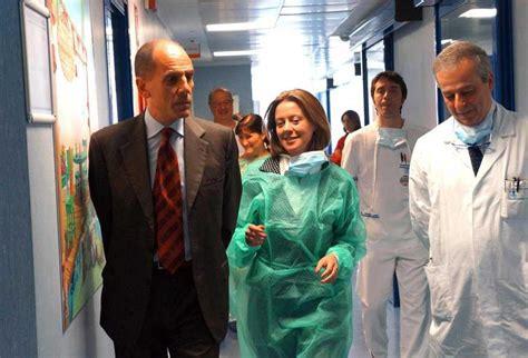 ospedale pavia oncologia salute lorenzin inaugura nuovo reparto oncologico al