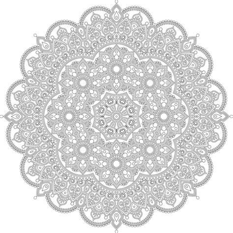 mandala decorative ornamental  vector graphic  pixabay
