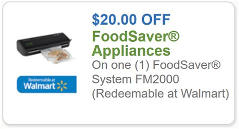 foodsaver printable coupons foodsaver coupon 20 off one foodsaver system a target