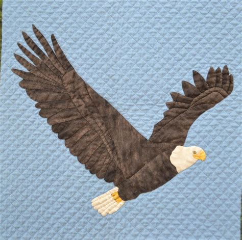 eagle applique bald eagle applique and wall hanging by alexandra henry