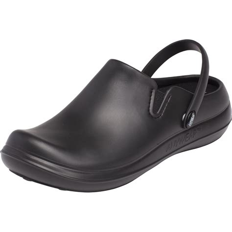 plastic clogs for plastic clog in black from anywear