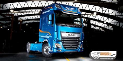 driver challenge daf launches transport efficiency driver challenge 2018