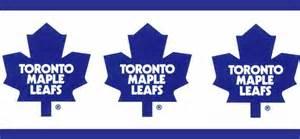 Toronto maple leafs wallpaper border