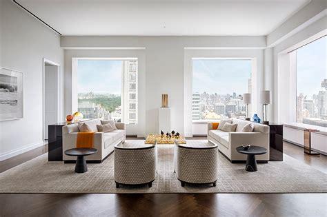 designboom apartment 432 park avenue a look inside rafael vi 241 oly s ny skyscraper