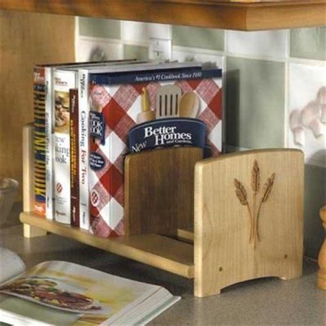 Countertop Bookshelf chef s bookshelf