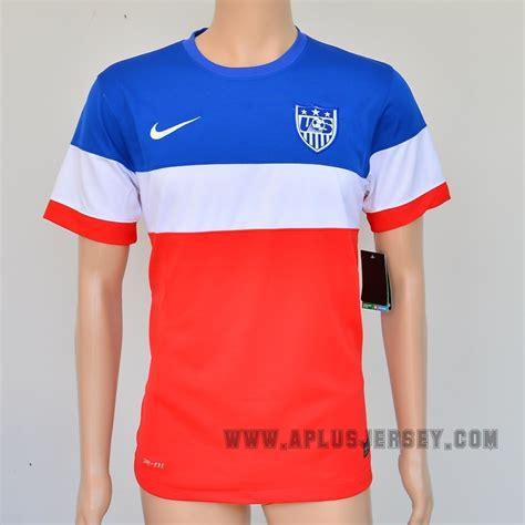 Jersey Home World Cup 2014 usa world cup 2014 away soccer jersey football shirt