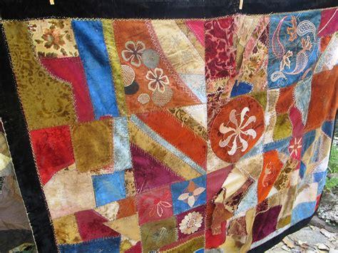 Velvet Quilt Quilt Velvet Quilt 1800s Quilt Antique