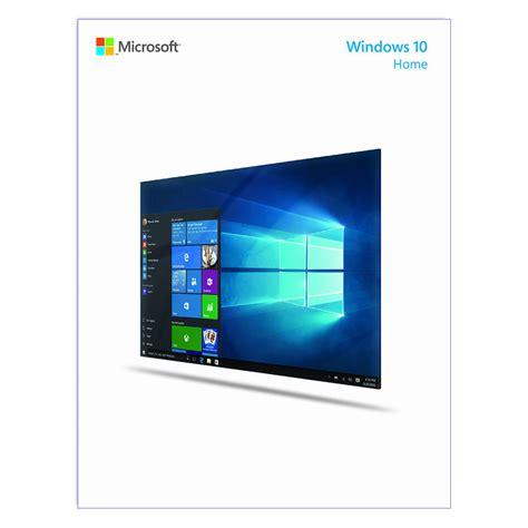 Microsoft Windows 10 microsoft windows 10 home 32 64 bit kw9 00265 b h