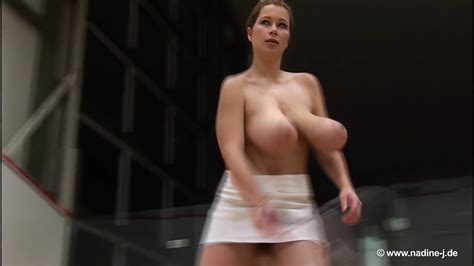 Terry Nova Plays Squash Topless Upscaled To 60fps 4k