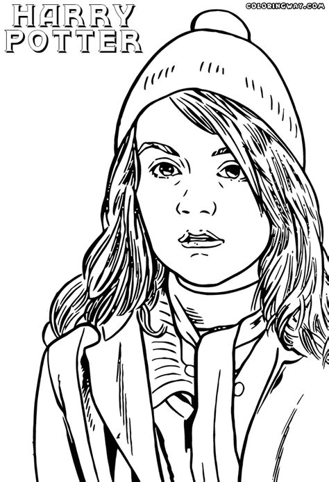 harry potter coloring pages ginny weasley harry potter coloring pages coloring pages to download