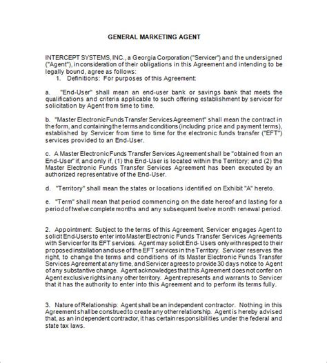 recruitment agency terms and conditions templates 11 booking contract templates free word pdf