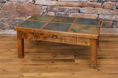 coffee table model slate coffee table iron and slate