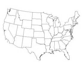 blank map of united states with word bank