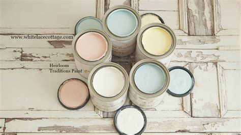 diy chalk paint heirloom traditions heirloom traditions and diy paint white lace cottage