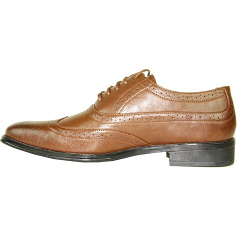 mens brown oxford dress shoes s brown classic oxford square toe wingtip dress shoe