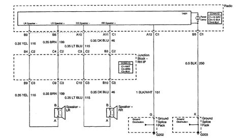 wiring diagram the wires in the back of the radio what