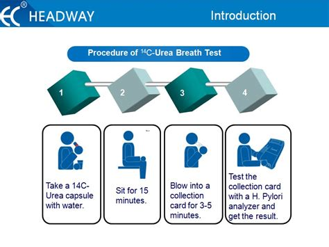 ubt test h pylori rapid urease test kit for urea breath test buy