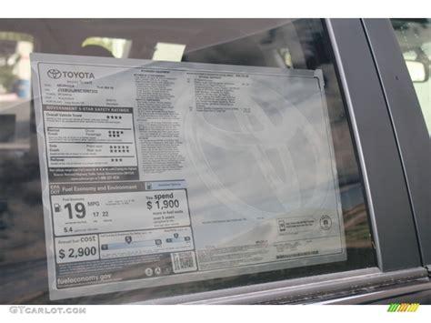 Toyota Window Sticker By Vin Window Sticker By Vin For Toyoto Autos Post