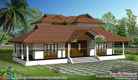 Traditional Home Design Blogs Kerala Traditional Home With Plan Kerala Home Design