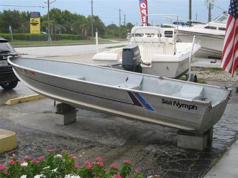 sea nymph aluminum jon boats 1989 sea nymph boats for sale