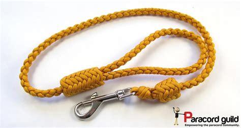 paracord leash braided paracord leash herringbone style paracord guild