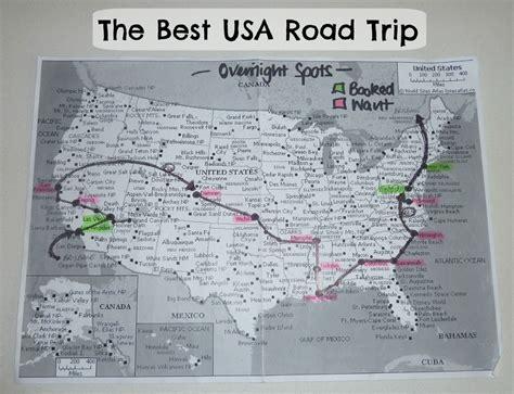 best road maps for usa the best usa road trip melissaclarkedigital