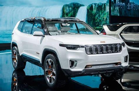 jeep wagoneer 2019 jeep grand wagoneer 2019 may be based on the yuntu concept