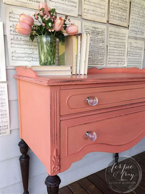 colored furniture 17 best ideas about coral dresser on coral