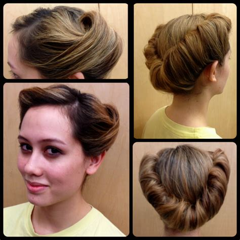 suffragette hairstyles five easy steps to victorious rolls hair dos pinterest